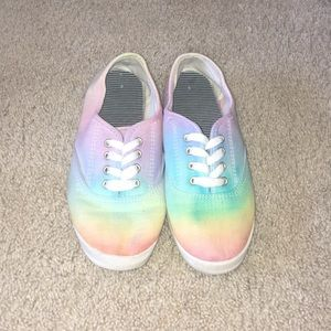 Shoes - Handmade tie dye canvas shoes